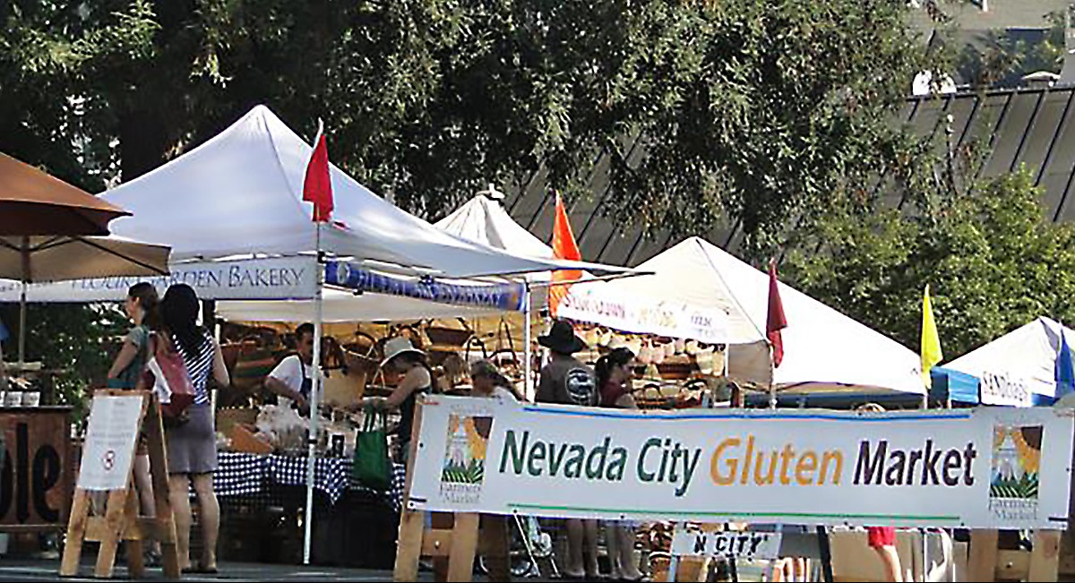 Nevada City to host the Nation's first Gluten-only market.