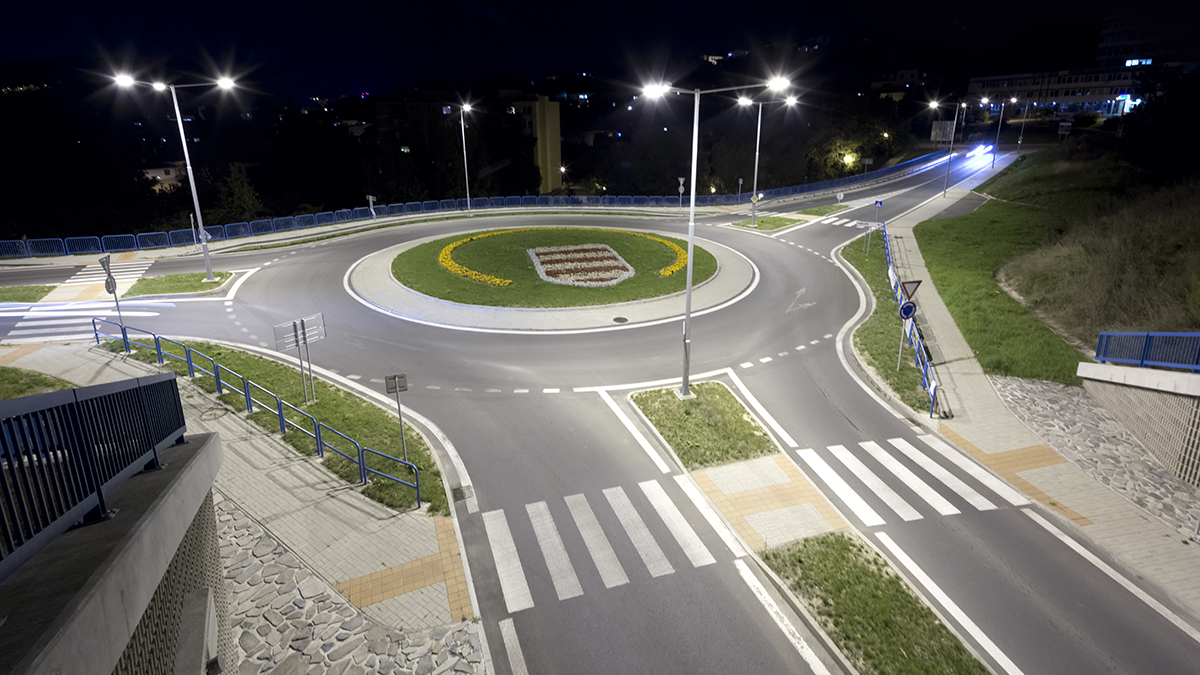 A well-lit Roundabout just means you can see when you die.