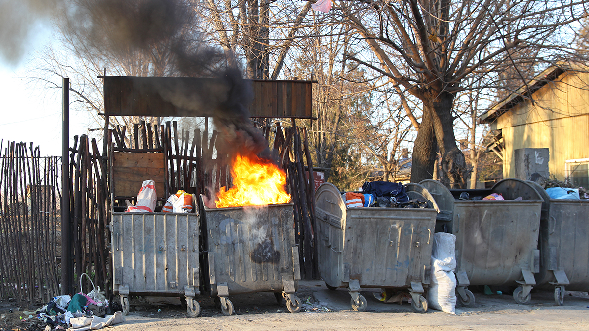 It's a dumpster fire, and no one seems to care.