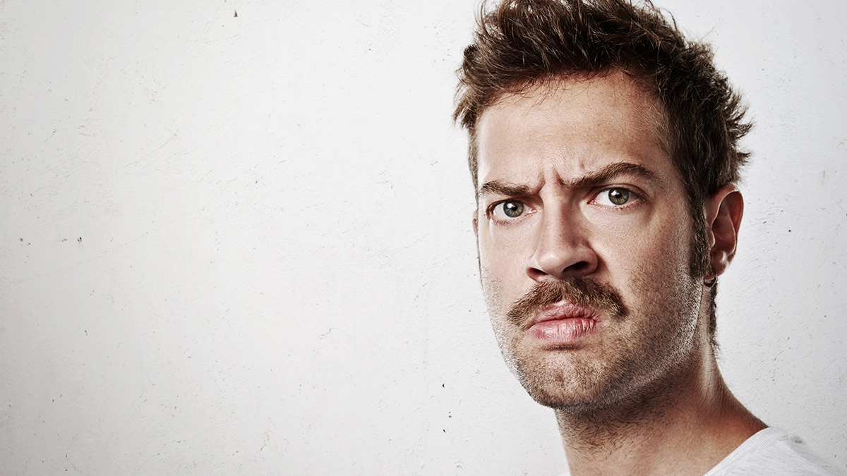 Area Man Not Sure What He's Angry About