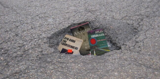 Despite an earnest sense of voluntarism, an area pothole hasn't been fixed.