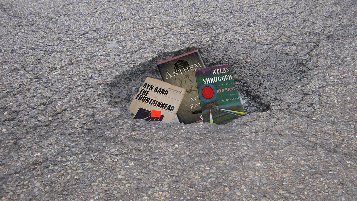 Despite an earnest sense of voluntarism, an area pothole hasn't been fixed.
