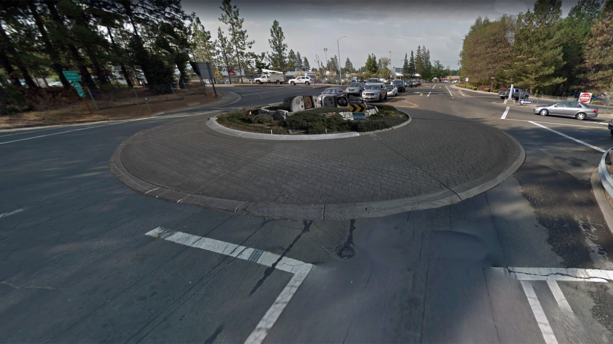 In a bold move, Grass Valley has decided to replace all traffic signals with Roundabouts.