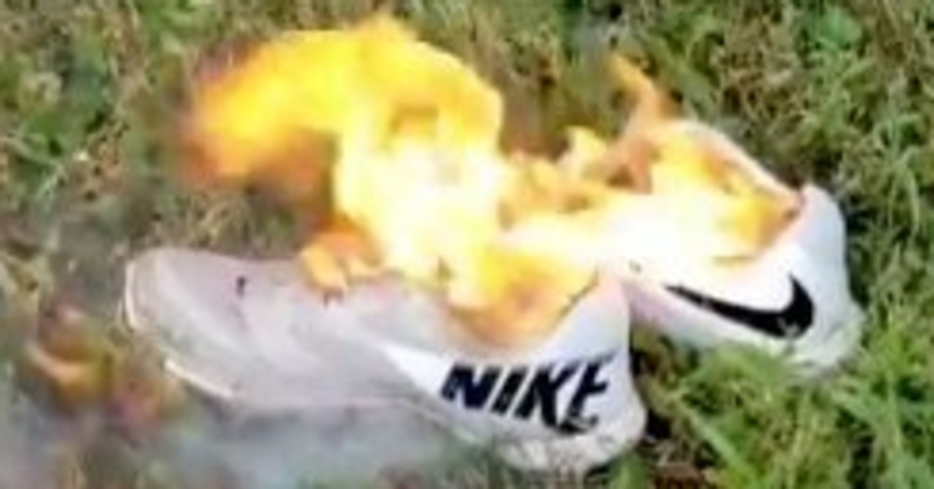 As local conservatives engulf their Nike clothing in fire for no apparent reason, area Goodwill donation centers say they are being flooded with the apparel giant's clothing.