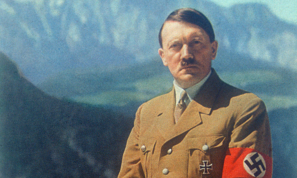 Adolf Hitler in Bavaria. Or was it California or Montana?