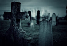 Area ghost hunters found more than they were expecting in a local cemetery.