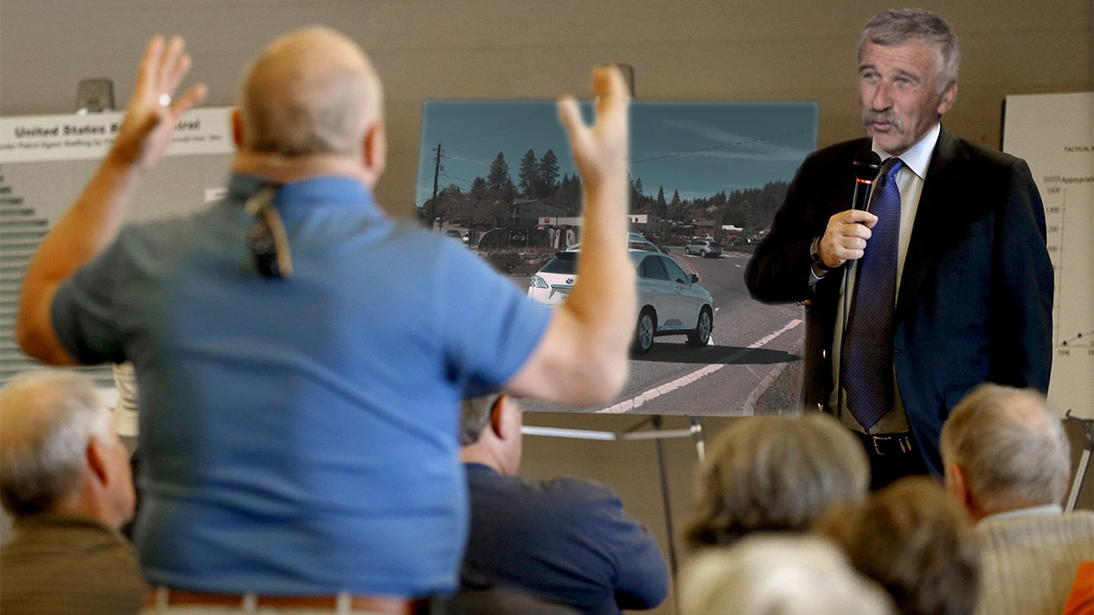 "The Grass Valley Elk's Lodge held a contentious ""support group"" to discuss the menacing East Main Street Roundabout."