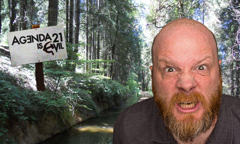 Local Man Fights Agenda 21 with Gold Claim on Area Irrigation Ditch