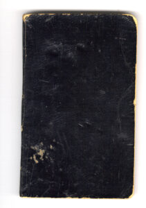 Reverend Wilford E. Shank's diary from 1862.