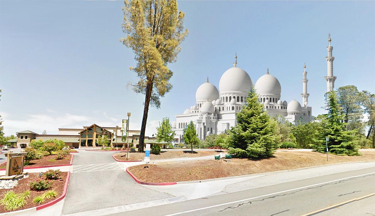 Mega Mosque Planned Next to Mega Church