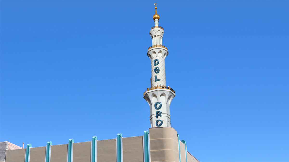 Artist rendition of the new Islamic minaret to replace the old and iconic Del Oro Tower.