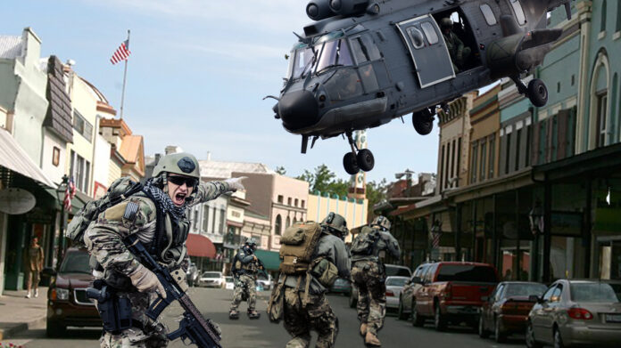 Local authorities are urging calm during the upcoming military exercise in Grass Valley.