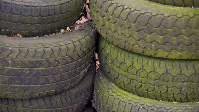 Area caller into KNCO's Swap Shop insists that his tires for sale are