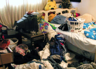 Area teenager Kevin Thomas' bedroom.
