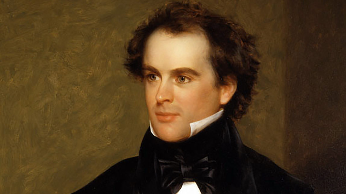 A young Nathaniel Hawthorne discovered that early Americans can also be douche bags.