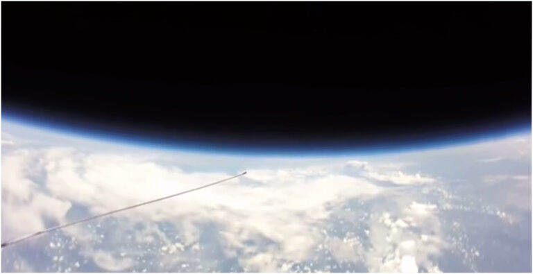 Local Weather Balloon Experiment Proves Earth is Taco-shaped.