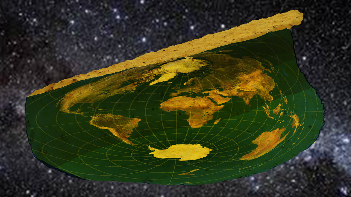 "Skyy Wolford provided this interpretation of what he's calling ""Taco Earth."" <span style=""color: #000000;""><em>Source: Skyy Wolford and Microsoft Paint</em></span>"