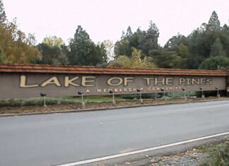 "In an effort to stay relevant and ""hip,"" Lake of the Pines is experimenting with the Comic Sans font."