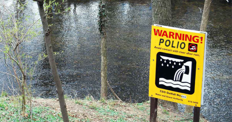 Nevada City Experimenting with Polio in City's Drinking Water