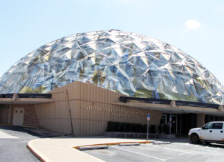 The future home of the Natural Selection Alternative Academy Charter School. Seen here with it's patented aluminum Electromagnetic dome shield.