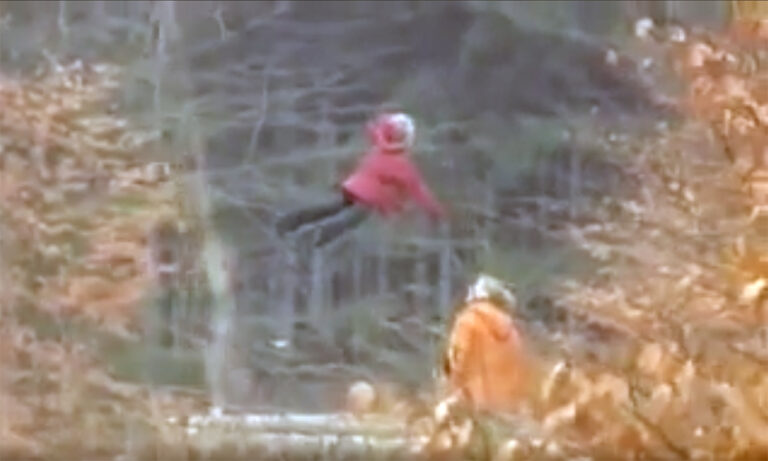Mysterious Flying Girl Caught on Video in Sierra County