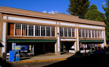 The new home of the Nisenan Rancheria Casino located in downtown Nevada City.