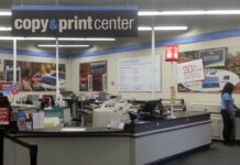 Staples maintains that no customers were in any danger.