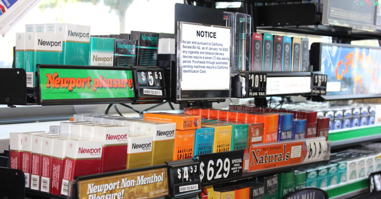 California Cigarette Purchases Now Require 7 Day Waiting Period