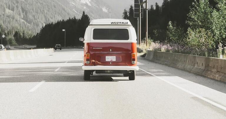 Westfalia VW Van Breaks 70MPH Descending the Grapevine