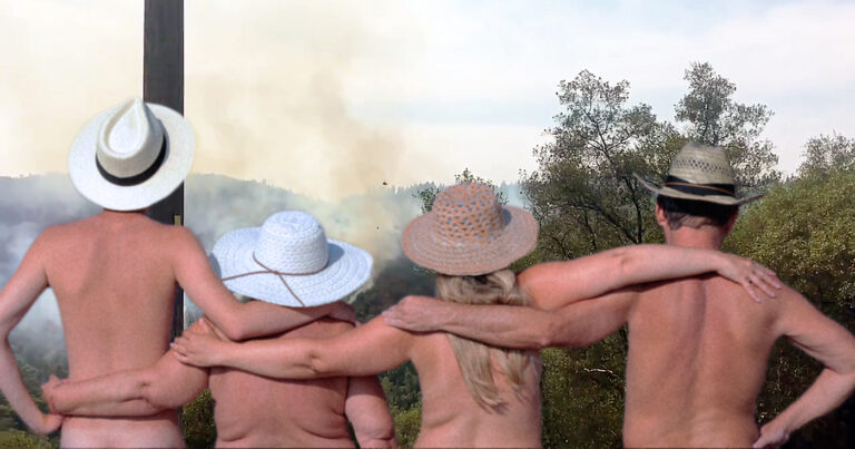 Nudists Annoyed By Recent Fire Crews